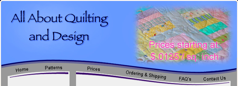 aaquilting prices - for pantographs or custom longarm machine quilting : quilting prices - Adamdwight.com